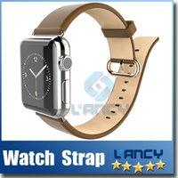 lunatik - newest Apple Watch bracelet Watchband Strap lunatik Leather Classic Buckle mm mm Watch Band Strap for Apple Watch retailbox DHL