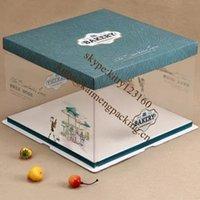 FDA cake boxes - 20pcc Cupcakes of large Square Cake Mold Cupcake Boxes