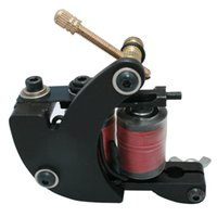 Wholesale Professional Casting Iron Tattoo Machine Wraps coil stainless steel Tattoos Body Art Gun Makeup Tool