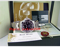 automatic watch box - Factory Supplier Luxury Watches New mm SS Black Ceramic Sapphire Original Box File Mens Men s Watch Watches