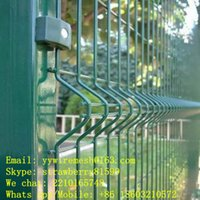 Wholesale 70 mm Wire Mesh Fence Curved Type Folds
