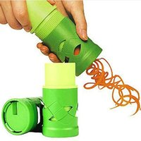 Wholesale Vegetable Fruit Spiral Slicer Cutter Spirelli Kitchen Tool Spiralizer Twister Grater
