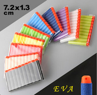 Wholesale 500pcs Nerf N strike Elite Rampage Retaliator Series Blasters Refill Clip Darts electric toy guns soft nerf bullet outdoor toy bullet
