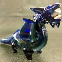 Glass animals hand - Glass Smoking Pipes Hand Pipe Dinosaur Oil Burner Pipes Tobacco Pipe Latest New Arrival Lovely Animal Smoking Glass Pipes