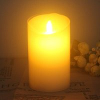 Wholesale Factory Direct Selling MM Flameless LED Candle with Moving Flame Wick Christmas Gift lights birthday gift