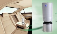 Wholesale Ovtech Car Oxygen Bar with LED Auto Car Air Freshener car Purifier filter Ionic Purifier Oxygen Bar Ozone Ionizer Cleaner