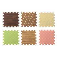 Wholesale 9Pcs Bag Baby Play Mat Floor Puzzle Mats Kids Children Foam Carpet Mosaic Floor For Living Room Decoration