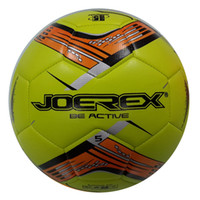 Wholesale JOEREX Number Multi Colors Machine Sewn Soccer ball JAB40496 PU Surface Suitable for Any Weather