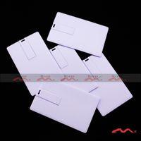 Wholesale 8GB Plastic USB Stick Drive Memory Flash Pendrive Factory Outlets Suitable for Color Logo Print Card Color White