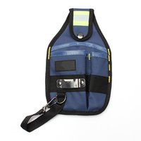 Wholesale 3 Pockets Professional Electrician Tool Belt Pouch with Tape Buckle High Quality