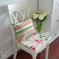 Wholesale Almofadas Decorative Pillows Cushions Upholstery Fabric Upholstery meal seat stool chair Pad Cushion Sponge Can Be Customized
