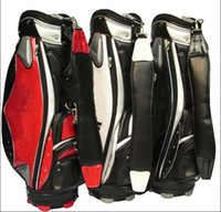Wholesale 1PC New PU CA golf bags Men women hole standerd golf bag colors Mix order