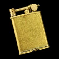 Wholesale Vintage Gadget ZORRO metal copper gasoline kerosene lighter Men s cigarette briquet