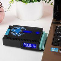 Wholesale COOLCOLD ICEMAGIC USB Ventilation Radiator Portable Notebook Exhaustfan order lt no track