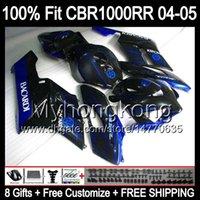 bacardi black - BACARDI bats Gifts Tank Fairing For HONDA CBR1000 RR Y79124 CBR CBR1000RR Blue black RR Injection Mold Body