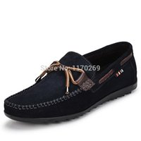 boat shoes - New arrive new style fashion boat shoes genuine leather comfortable drivers shoes high quality loafer colors