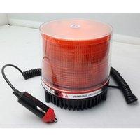 Envío libre ambarino de destello de la luz de emergencia del estroboscópico del faro del carro del coche 12 / 24V que envía libremente RQ014