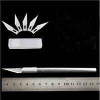 Wholesale New For PCB Phone Repair DIY Tool Metal Handle Hobby Knife Pen Cutter Blade