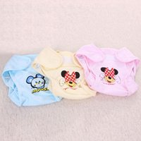 Wholesale Mickey Mouse Cartoon Baby Diaper Covers Cloth nappy Toddler Cloth Diapers Colorful Bags Zoo color