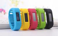 OLED Bluetooth 2.1 Bracelet intelligente Sport Montre podomètre surveillance du sommeil brûler les calories compteur pour Android téléphones intelligents