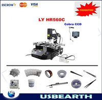 bga rework - Promotion BGA Rework Station HR560C Welding Machine with LY Cobra CCD camera and monitor in mm BGA reballing accessories kit