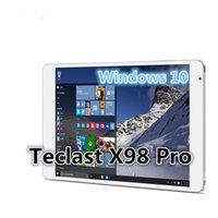 Wholesale Teclast X98 Pro Windows Tablet PC inch Retina x1536 IntelCherry Trail x5 Z8500 Quad Core LPDDR3 GB RAM GB ROM