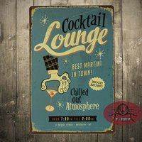 best in town - COCKTAIL LOUNGE BEST MARTINI IN TOWN LARGE METAL POSTER TIN SIGN WALL PLAQUE A