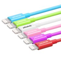 iphone 5 cables - YELLOWKNIFE Apple MFi Certified Lightning Pin Data Sync and Charger USB multicolour Cable for iphone S Plus Plus s ipad
