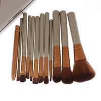 Wholesale Makeup Cosmetic Brushes Set Powder Foundation Eyeshadow Lip Brush Tool VD524 W0 SYSR