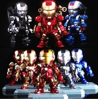 Wholesale Sound Control Ironman Cartoons Toys The Avengers Sparkle Shine Ironman