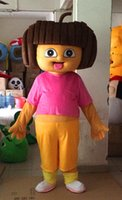 Wholesale new High quality D Dora Mascot Costume Fancy Dress Suit your Halloween Outfit