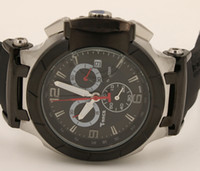 Wholesale hot sale luxury watch men T race Watch Portatil T0484172705702 watches black leather band chronograph COUTURIER