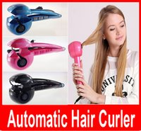Wholesale New Magic Automatic Hair Curler Professional Hair Styling Styler Tools Hair Curling Irons Roller Curling wand EU US UK PLUG