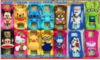 Wholesale 2015 Brand New Universa Cell Phone Silicone Case Mobile Phones Common Border For All model Mobile D Cartoon Case Hot Selling