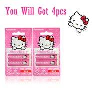 aa cycles - 4x Panasonic Hello Kitty Eneloop mAh AA Rechargeable Batteries Cycle MH