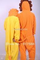 Cheap Wholesale-Fleece Animal Cosplay Costume Pajams Pyjamas Unisex Adult Men Women Sleepsuit Sleepwear Cute Lion Onesie