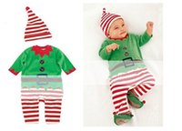 Wholesale 5sets Christmas Baby Clothing Baby Clothes Cotton Fabric Cute Kids Clothes Set Christmas Designer suit