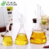 sauce bottles - The high borosilicate glass sauce seasoning soy sauce and vinegar cruet eco friendly oiler oil condiment bottles Eleton size hand made