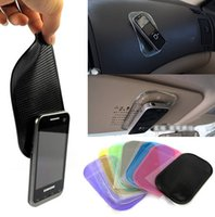 accessories for automobiles - Anti Slip Car Sticky Anti Slip Mat Automobile Interior Accessories for Mobile Phone mp3 mp4 Pad GPSWork Perfectly as Charm Gift Free DHL