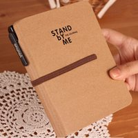 journal and notebook - 2015 Fashion Travel Planner Journal Hardcover Schedule Notebook with Elastic Band Envelop and Pen Inside Kraft Paper Cover