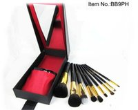 bb limited edition - PROMTION FREE DHL limited edition make up Brush Set BB Makeup brush set Cosmetic Tool with Box set
