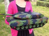 airsoft battle tanks - 1 scale rc tank airsoft channel model tanks remote control Leopard Main Battle Tank