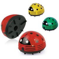 Wholesale Mini Red Ladybug Handheld Vacuum Cleaner HotSelling Items Desktop Cleaner Car Dust Collector
