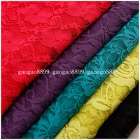 Wholesale New Materials Soft African Plain Woven Lace Venice High Quality Fabric Wedding Evening Dress Gown Skirt Bridal Table Cloth Arabic