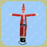 Wholesale Inflatable Santa Claus Air Dancer for Advertisement m High Sky dancer for Events with Blower Included