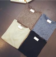 bamboo tee shirts wholesale - Fiminina Top Summer Style Fashion Women t shirt Simple Bamboo Cotton Loose Basic Tee Casual Short sleeved T shirt Colors