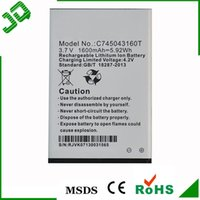 Wholesale C745043160T For BLU Advance A270 V mAh Mobile Phone Battery Li ion Cell Phone Batteries NEW Product