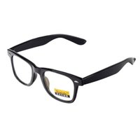 Wholesale Fashion Retro Anti Radiation UV Protection Computer Glasses Dumb Black