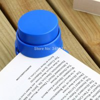 Wholesale FASHION Practical Staple Free Stapler Paper Binding Binder Stapless Stationery