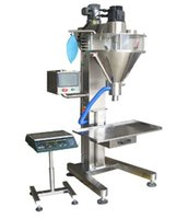 Wholesale 2015 price auger filler for wheat floor powder and coffee powder auger dosing and filling into small sachets and bottles